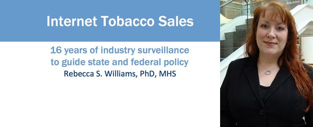 Williams Speaks to Tobacco Control Legal Consortium